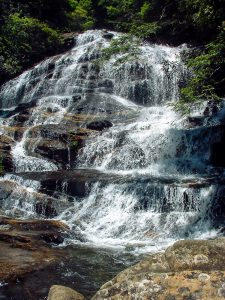 Middle Section of Glen Falls