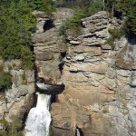 Closeup of Linville Falls