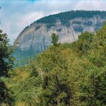 View of Looking Glass Rock from FS 475