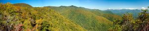 Panorama from Pinnacle Summit