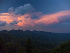 Developing Storm Sunset