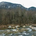 Chimney Rock above Broad River