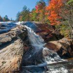 Cascade at the Bottom of Bridal Veil Falls