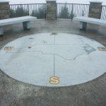 Mount Mitchell Viewing Platform Compass