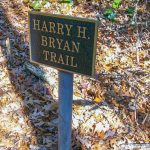 Harry H. Bryan Trail Sign