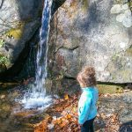 Kid-Sized Waterfall on the Julia Woodward Trail