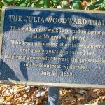 The Julia Woodward Trail Sign