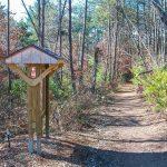Richmond Hill Park Trail Sign