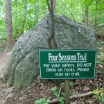Four Seasons Trail Sign