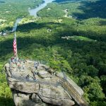 View of Chimney Rock