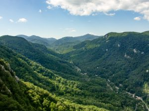 View of Hickory Nut Gorge
