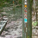 Start of the Cat Gap Trail