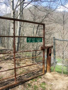 Rough Creek Watershed Gate