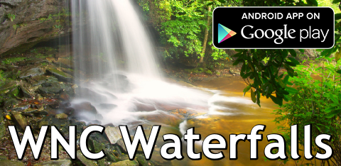 WNC Waterfalls App for Android