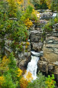Linville Falls from Chimney View