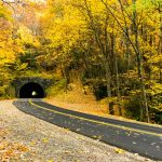 Tanbark Ridge Tunnel in Fall