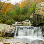 Hunt-Fish Falls in Fall Color