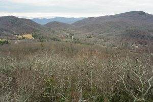 View of Upper Hickory Nut Gorge