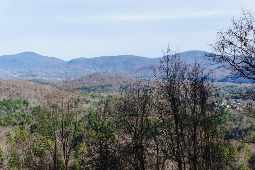 View of Bearwallow and Little Pisgah