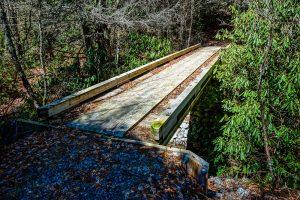 New Bridge in Panthertown