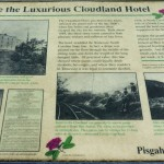 Cloudland Hotel Interpretive Sign