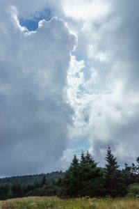 Storm Clouds over Roan Mountain