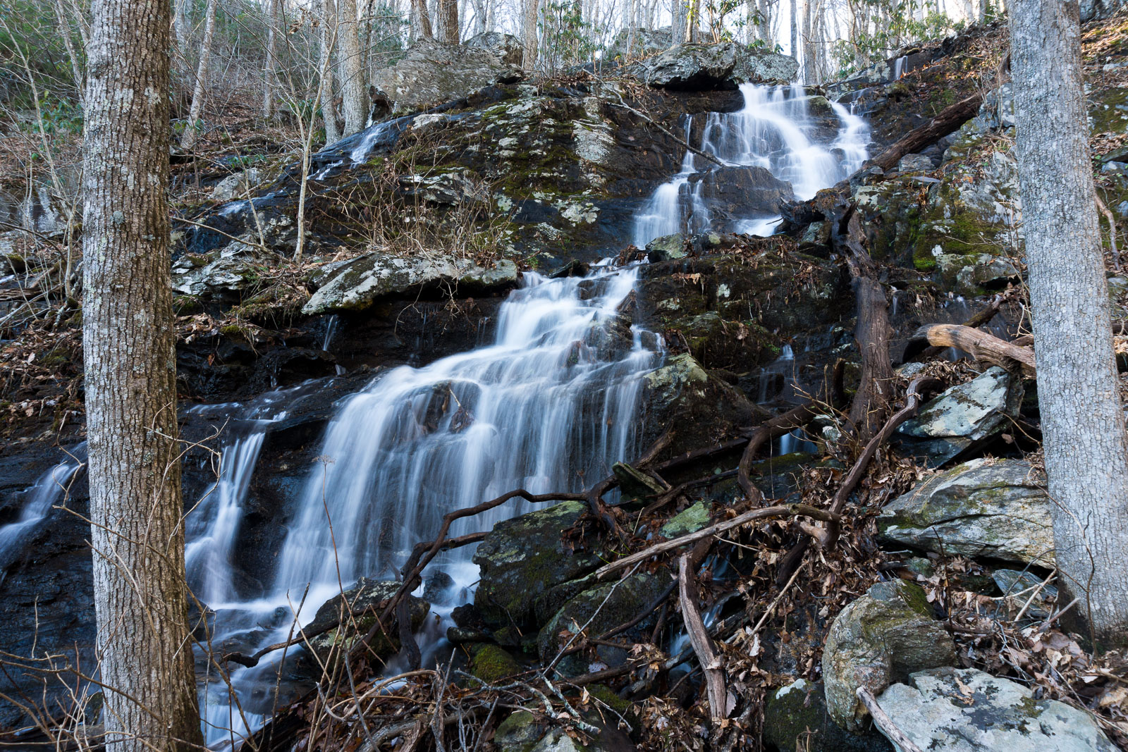 Uppermost Waterfall on Tributary of Shope Creek