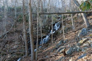 Waterfall on Tributary of Shope Creek