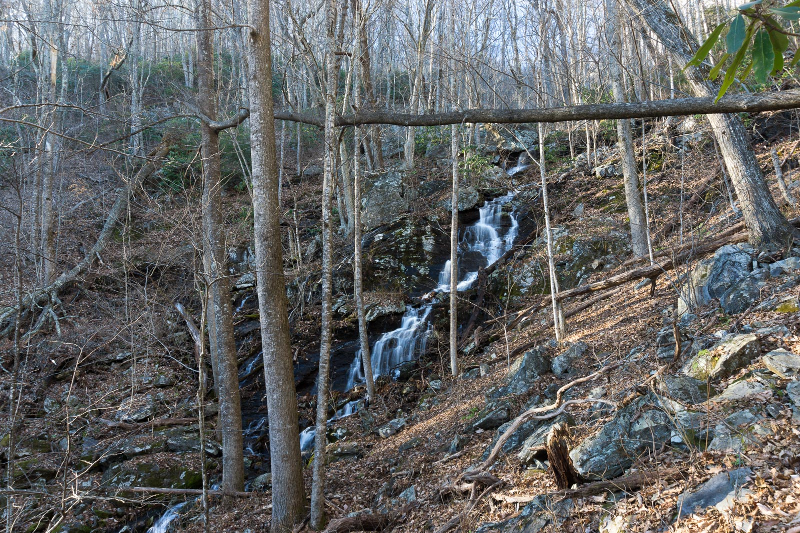 Waterfall on Tributary of Shope Creek