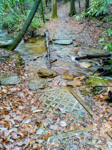 Harris Creek Horse Trail Crossing Toms Creek