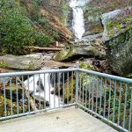 Observation Deck at Toms Creek Falls