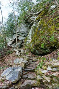High Falls Trail Below Bluffs