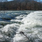 French Broad River Cascade