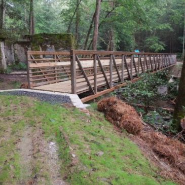 Catawba Falls Footbridge Construction Begins Next Week