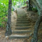 Steep Steps on the Stone Mountain Loop