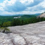 View from Below Stone Mountain