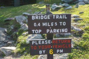 Bridge Trail Sign