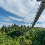 Swinging Bridge from Underneath