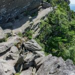 Narrow Ledge on the Grandfather Trail