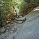 Rock Overhang on the Grandfather Trail