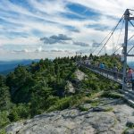 Swinging Bridge and Linville Peak