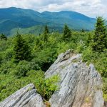 Mount Mitchell from Blue Ridge Pinnacle