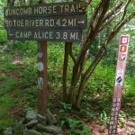 Buncombe Horse Range Trail Sign