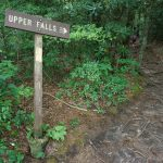 The Upper Falls Sign