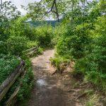 Graveyard Fiels Loop Trail Entering the Fields