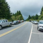 Overflowing Parking Area at the Art Loeb Trail