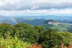 Looking Glass Rock Rainbow
