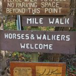 Grassy Creek Falls Sign