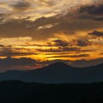 Craggy Dome Sunset