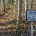Andy Cove Nature Trail Sign